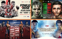 Where to watch British boxing during August