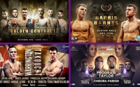 Where to watch British boxing in October this weekend on TV free