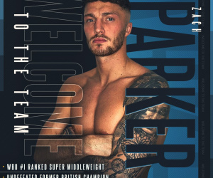 Zach Parker signs with Frank Warren and makes Queensberry debut on March 26 #1 ranked WBO super-middleweight bt sport next opponent ringwalks fight date tv time watch