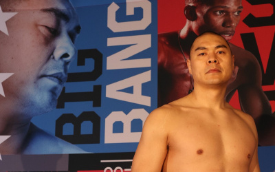 Zhilei Zhang 'Big Bang' targeting blockbuster bout – but knows there's work to do Anthony Joshua amateurs quarter finals olympics london 2012 rio 2016 boxrec watch highlights youtube matchroom boxing